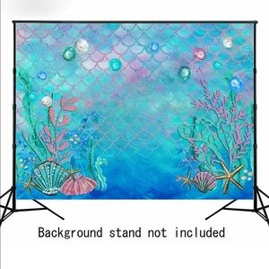 Photo Backdrop Fishes Under The Sea Princess
